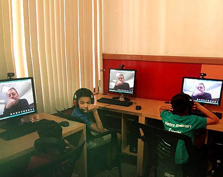 Casa Hogar Al Fin inauguró dos salas de Internet para la educación de sus niños